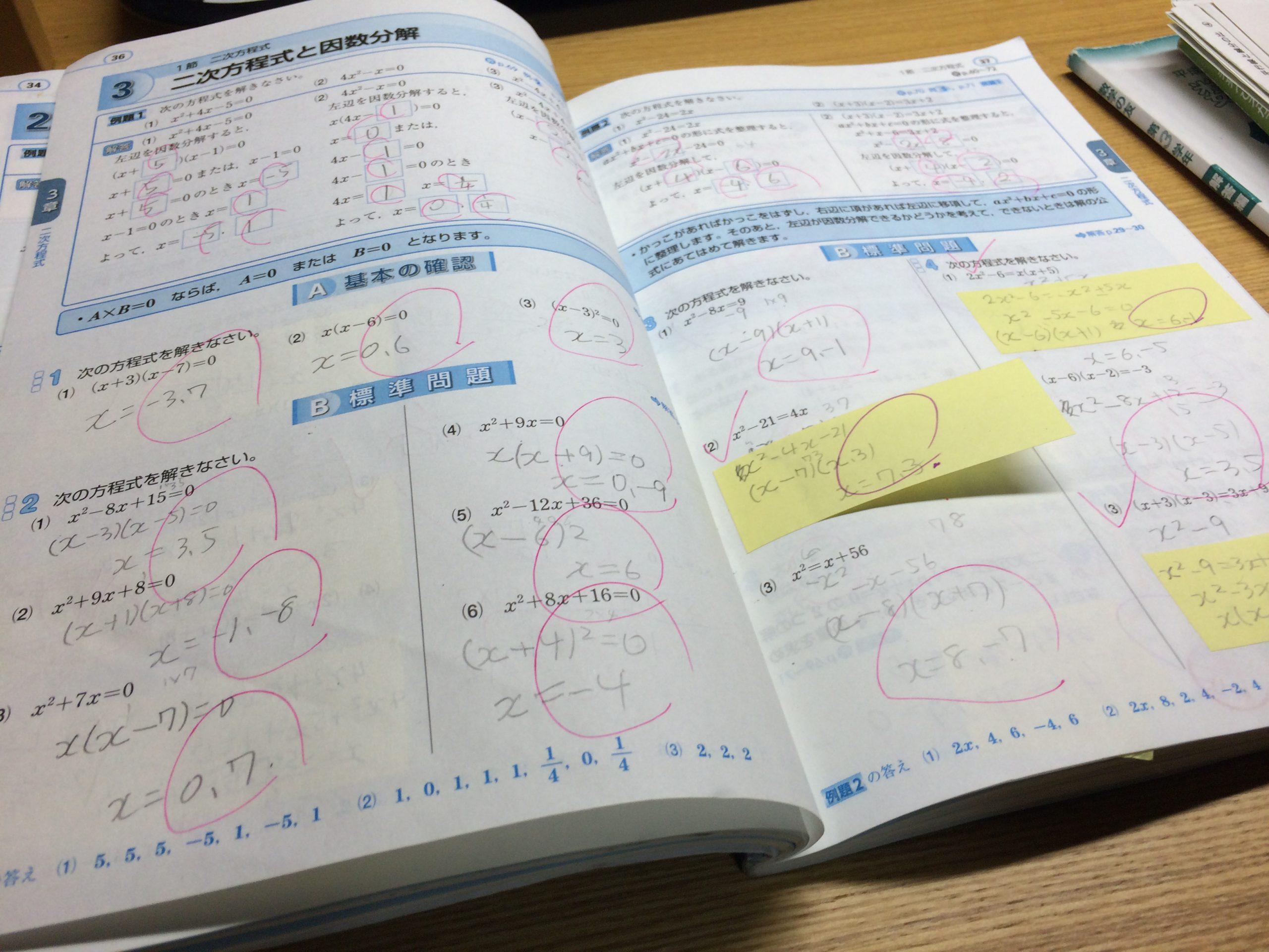 勉強のやり方が分からない