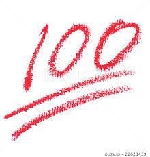 100点満点
